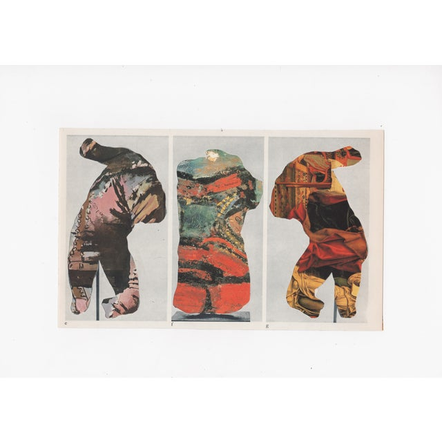 Ray Beldner Figural Triptych Collage - Image 1 of 5