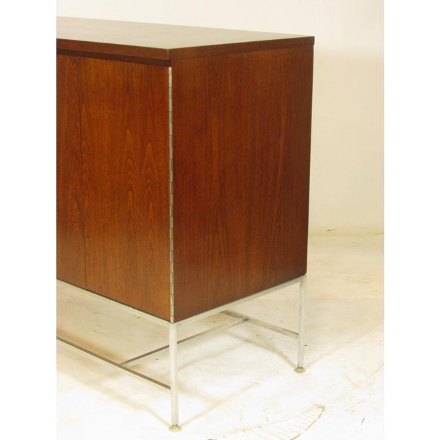 1950's Mid Century Walnut Server by Paul McCobb For Sale - Image 9 of 11
