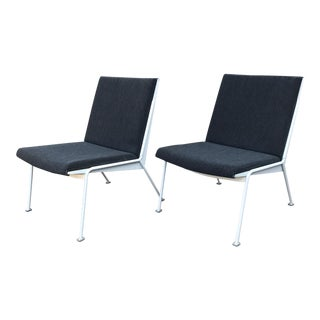 1970s Oase Easy Chairs by Wim Rietveld for Ahrend De Cirkel- Set of 2 For Sale