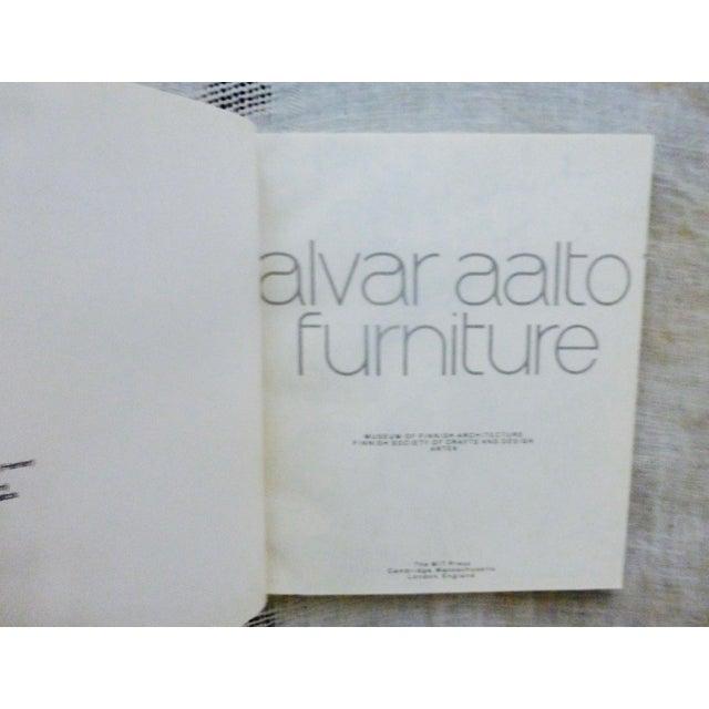 Art Nouveau Alvar Aalto Furniture Book For Sale - Image 3 of 9