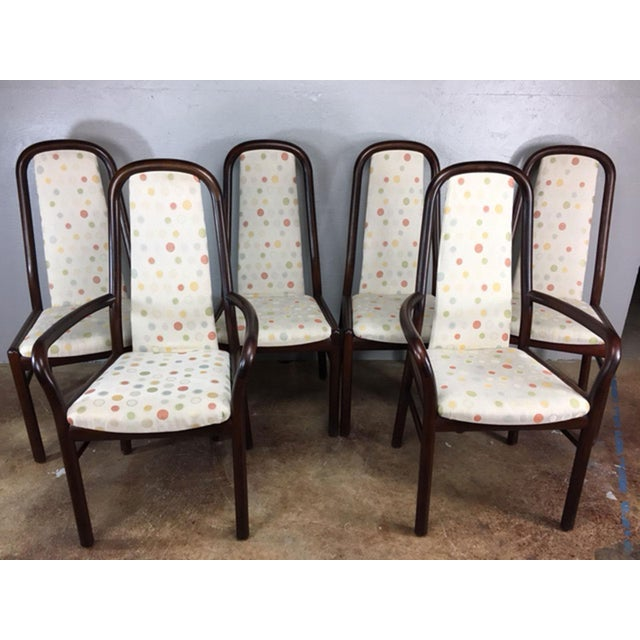 Dyrlund Rosewood Dining Chairs - Set of 6 - Image 2 of 9