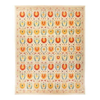 "Suzani Hand Knotted Area Rug - 12' 2"" X 15' 2"""