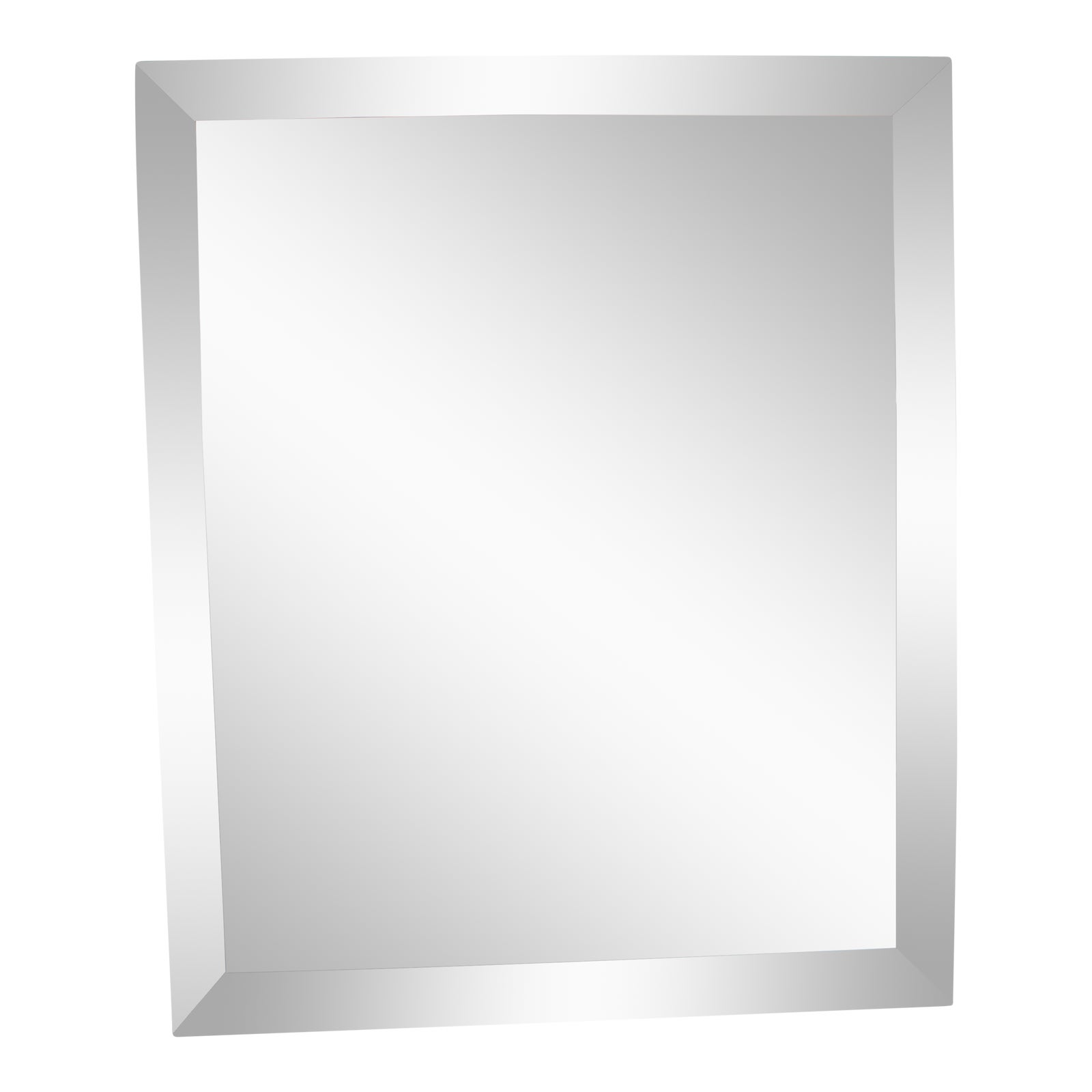 Large Mid Century Modern Faceted Wall Mirror Chairish