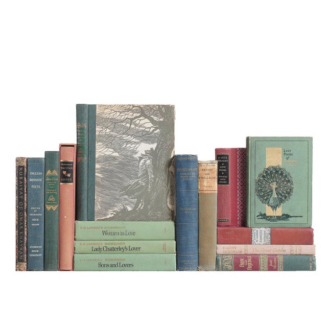 Romantic Tales & Poetry: Thyme & Currant Books - Set of 15 - Image 1 of 2