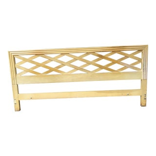 Paul Frankl for Johnson Furniture King Headboard For Sale