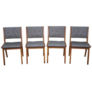 Jens Risom Mid-Century Dining Chairs - Set of 4 For Sale