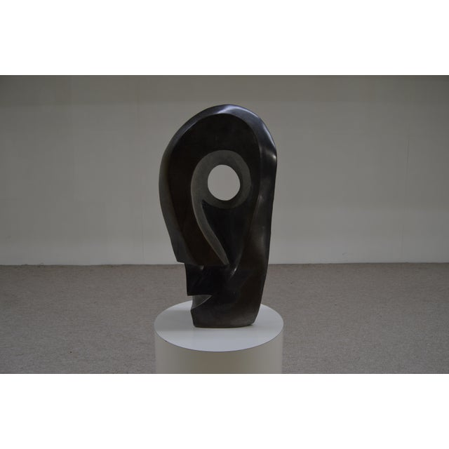 Monumental Pablo Picasso Style Spring Stone Sculpture - Image 2 of 5