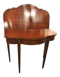 Image of Cherry Wood Drop-Leaf and Pembroke Tables