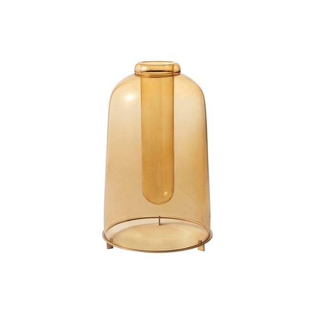 2020s Yellow Blown Glass Vase the Tall by Paola C for Design Italy For Sale - Image 5 of 5