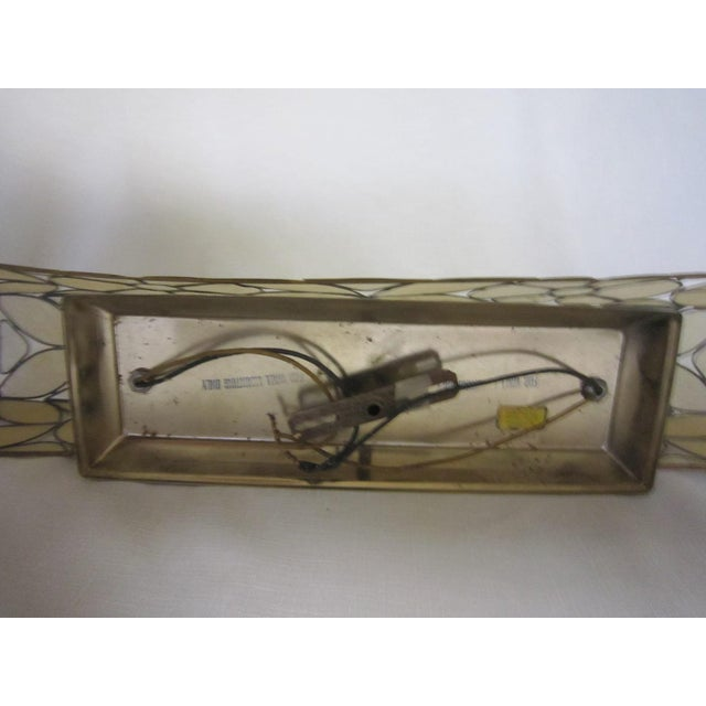 Capiz Shell Vanity Light For Sale - Image 5 of 5