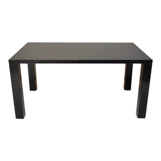 Lacquered Parsons Table For Sale