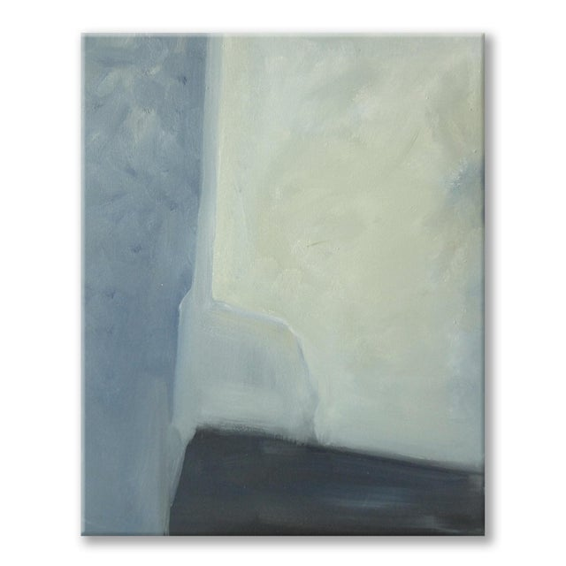 Abstract Plane & Corners Abstract Painting - Image 2 of 4