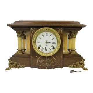 "Seth Thomas ""Shasta"" 1911 Adamantine Mantel Clock For Sale"