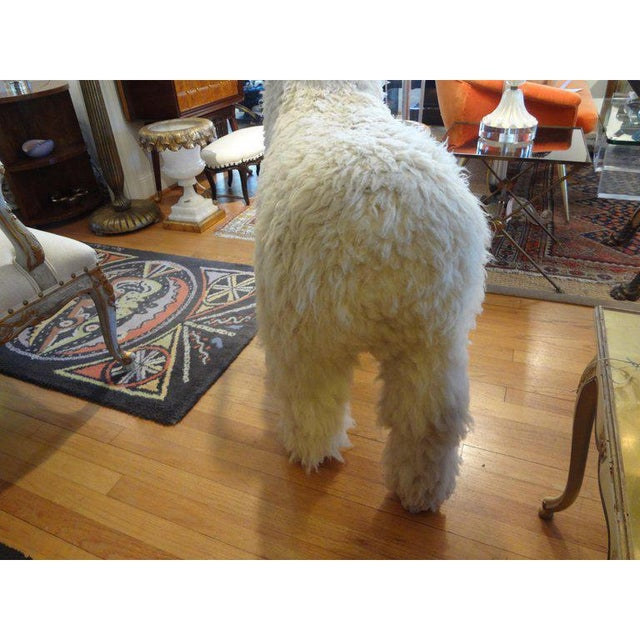 1960s 1960's Claude Lalanne Inspired Figural Shearling Sheep Sculpture For Sale - Image 5 of 12