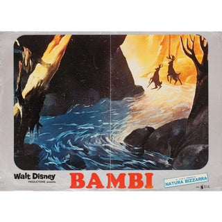 Bambi R1970s Italian Fotobusta Film Poster For Sale