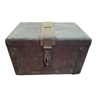 Mid 19th Century New Orleans Wooden Ballot Box For Sale