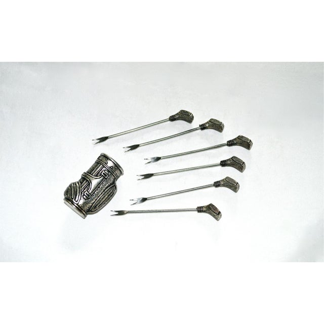 Golf Clubs in Bag Appetizer Picks - Image 3 of 9