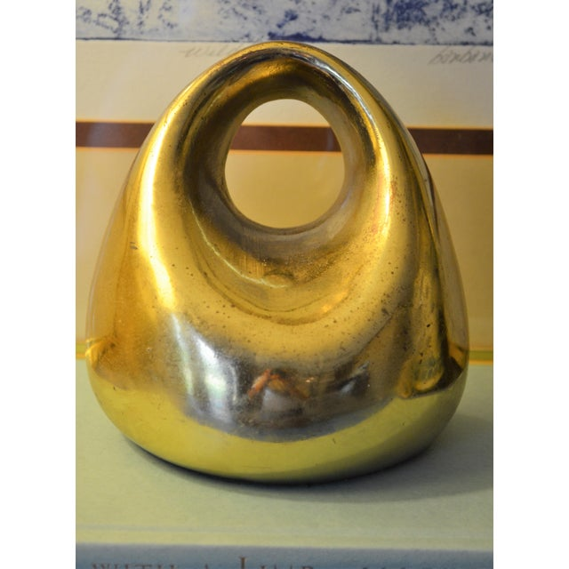 Mid-Century Ben Seibel for Jenfred-Ware Paperweight / Bookend - Image 2 of 6