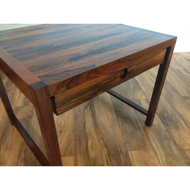 Brode Blindheim Rosewood End Table - Image 5 of 9