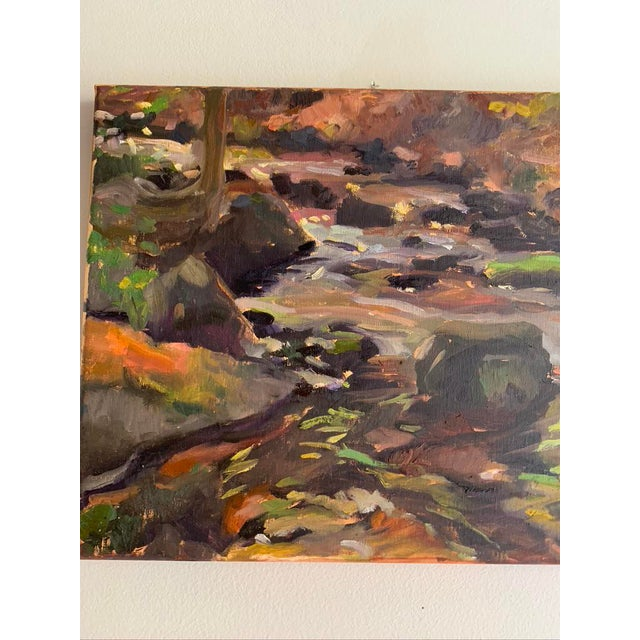 Painted en Plein-air (from observation outside) This is at the Orange County Audobon Property that is behind my house,...