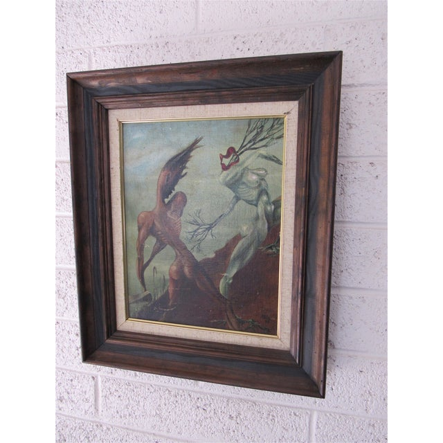 Rare Piece by Harold A. Laynor. Acrylic on masonite. 1939. Harold A. Laynor was born in New York City in 1922 and embarked...