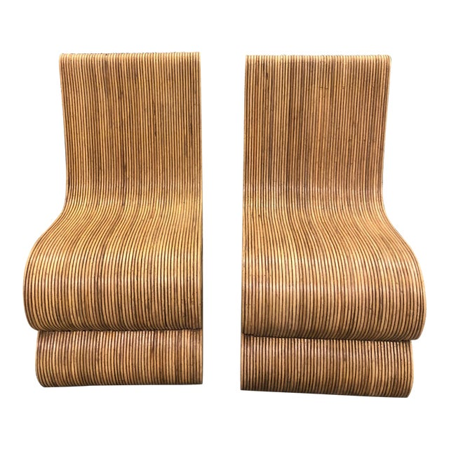 Modern Balinese Snake Chairs - a Pair For Sale