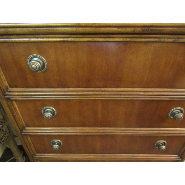 Drexel Furniture Split Bamboo Entertainment Hutch For Sale - Image 5 of 9