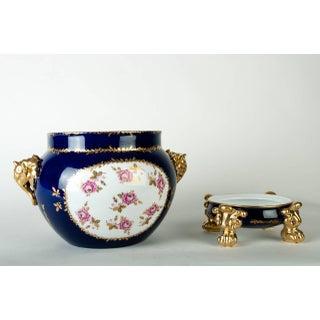 Vintage Pair Limoges Porcelain Jardiniere/Cache Pot Preview