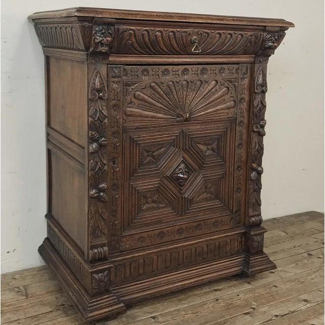 Renaissance 19th Century Flemish Renaissance Cabinet For Sale - Image 3 of 13