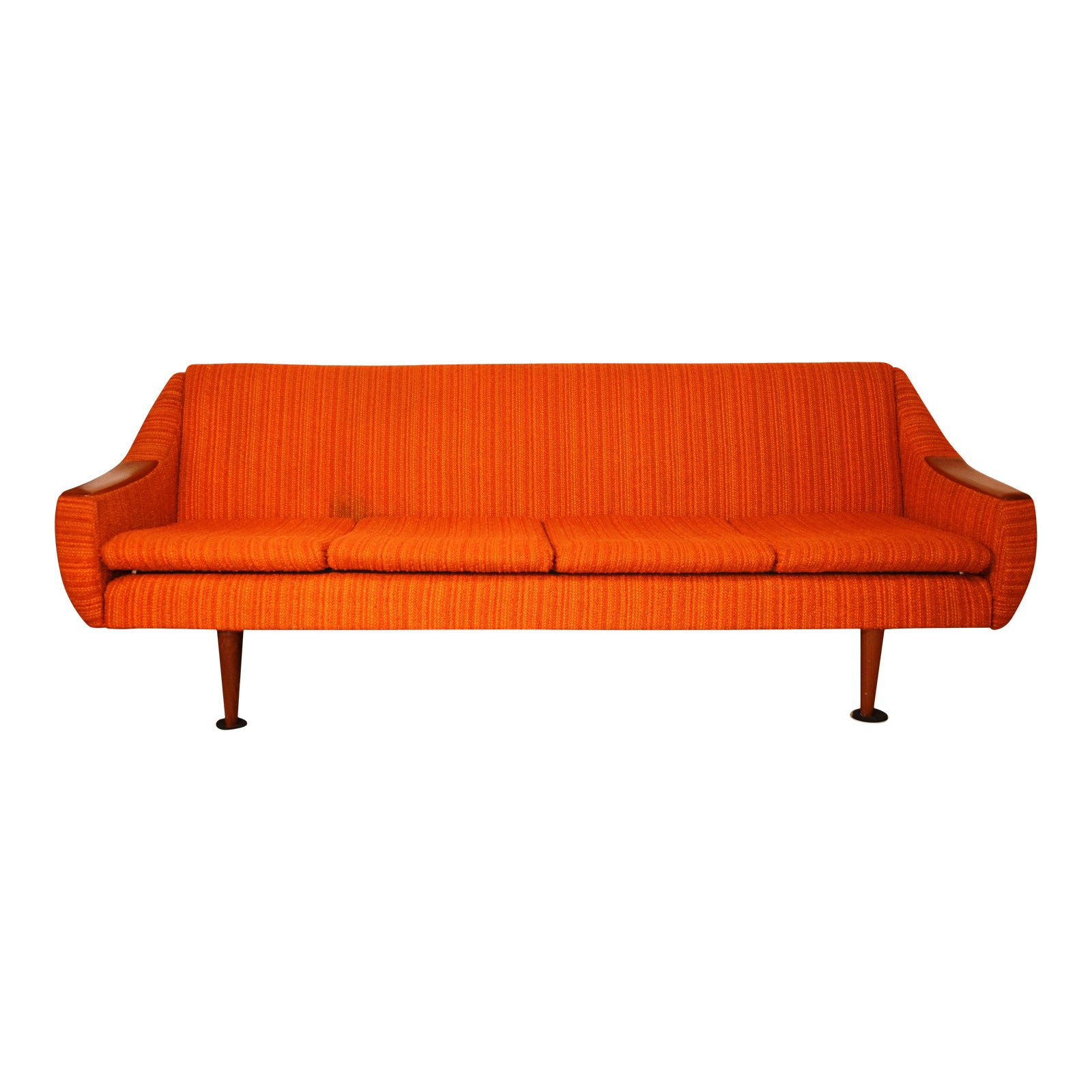 Mid Century Modern Danish Sleeper Sofa