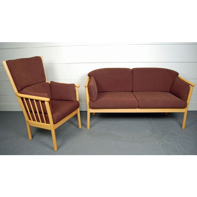 Vintage Swedish Modern Loveseat - Image 5 of 5