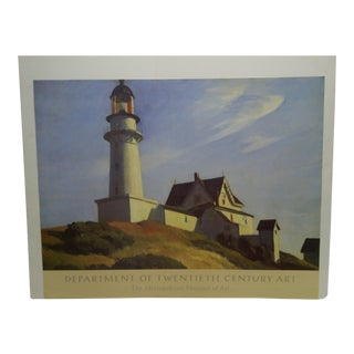 """""""The Lighthouse at Two Lights"""" by Edward Hopper Print For Sale"""