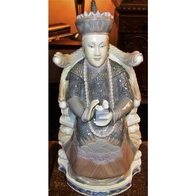 Lladro Retired Figurines of Chinese Nobleman and Noblewoman - Very Rare - Image 7 of 12