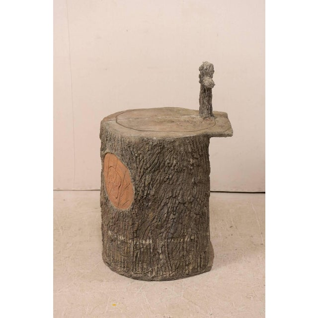 Tree-Trunk Style Faux Bois Alter/Niche Attributed to Popular Artist Dionicio R For Sale In Atlanta - Image 6 of 12