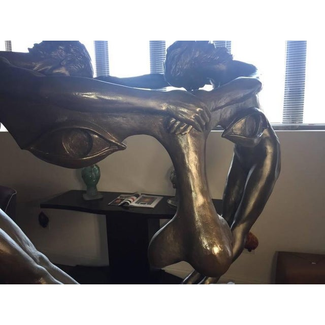 "Bronze ""We Two Together"" Sculpture For Sale - Image 4 of 10"