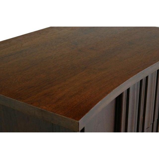 Edmond Spence Tall Dresser in Walnut, Sweden For Sale - Image 9 of 11