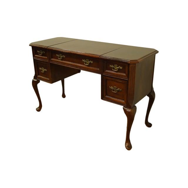 Bassett Furniture Bassett Furniture Eden House Collection Cherry Vanity For Sale - Image 4 of 13