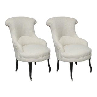 19th C. French Armchairs - A Pair