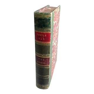 Vintage Book Shaped Storage Box For Sale