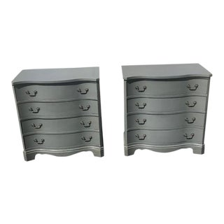 1940s Traditional Bedside Dressers - a Pair For Sale