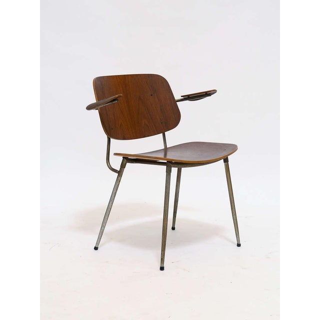 Danish Modern Armchair by Borge Mogensen For Sale - Image 3 of 10