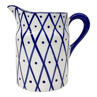 Vintage Ceramic Pitcher For Sale