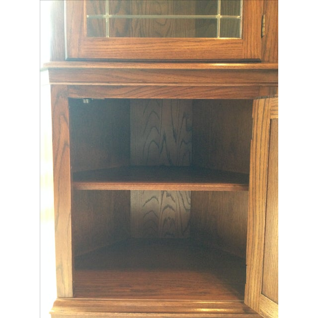 Pennsylvania House Lighted Corner China Cabinet - Image 5 of 6