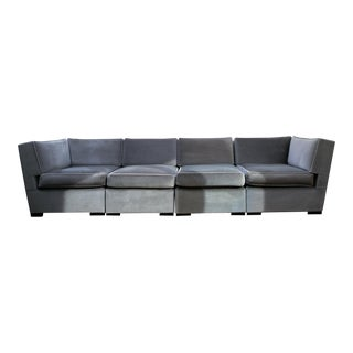 Model 1803 Angelo Donghia Sofa in Mohair