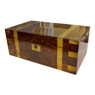 19th Century English Writing Box For Sale