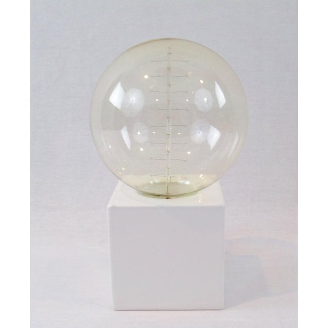 White Cube Table Lamp - Image 2 of 8