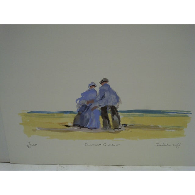"Frederick McDuff ""Summer Souvenior"" Print - Image 3 of 6"