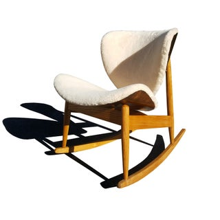 Mid-Century Modern Plywood Rocking Chair by Kodawood Preview