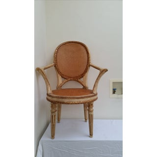 Italian Neoclassical Style Open Armchair Preview