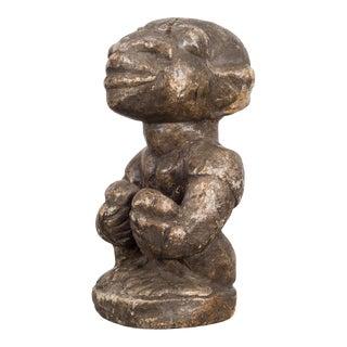 18th-19th C. Carved Stone Kissi Nomoli Figure, Sierra Leone For Sale